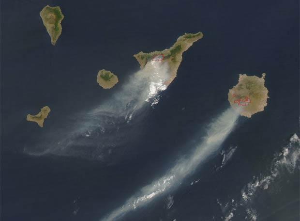 Canarias arde (cortesía involuntaria de nuestro querido Astroyoch)