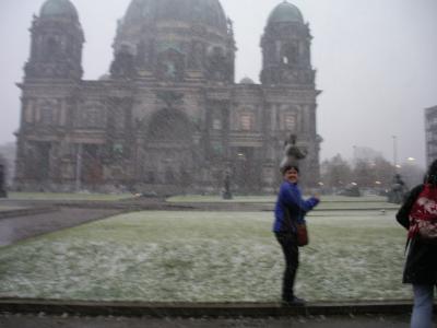 En Berlin, con frío pero contenta!!!!